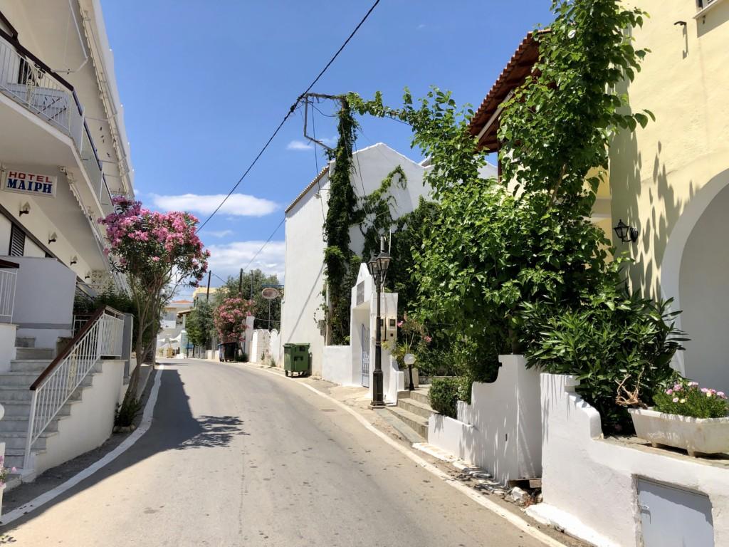 Grecja wyspa Agistri Skala
