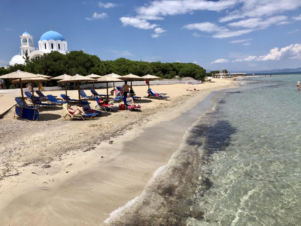 Grecja wyspa Agistri Skala plaża