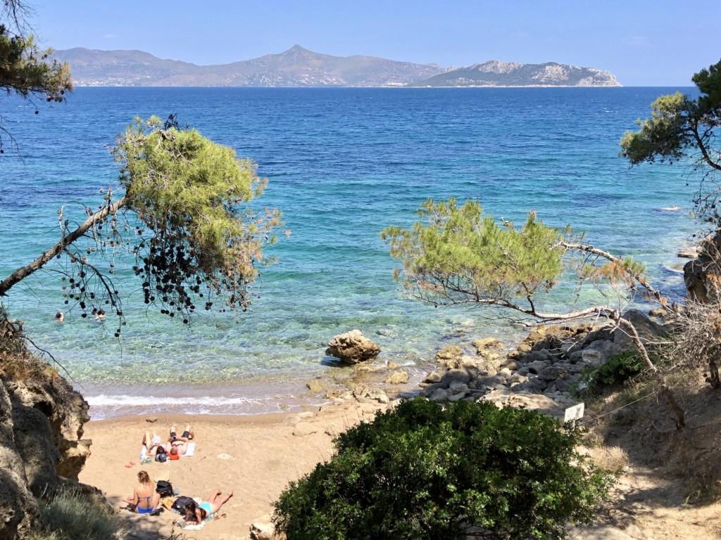 Grecja wyspa Agistri