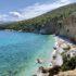 Grecja wyspa Agistri plaża Chalikiada