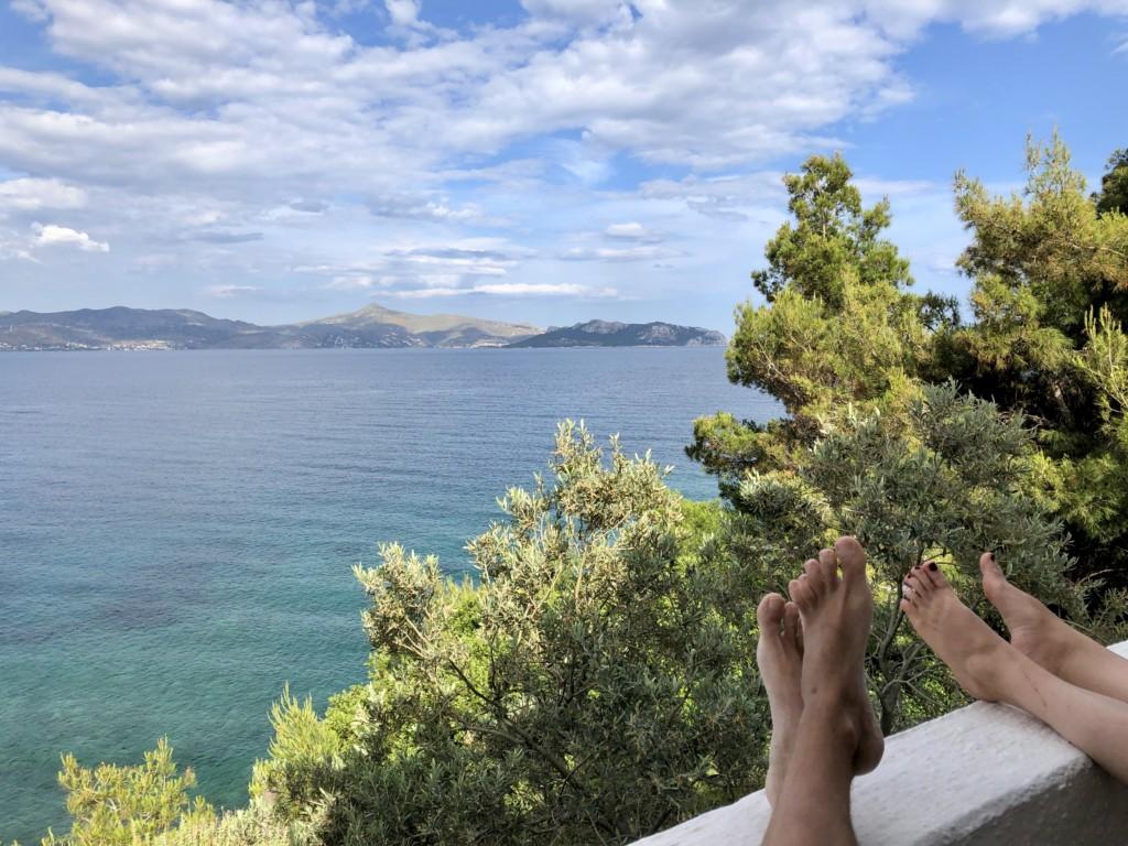 Grecja wyspa Agistri Club Hotel