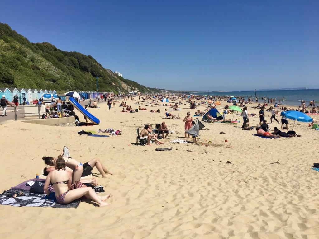 Bournemouth plaża