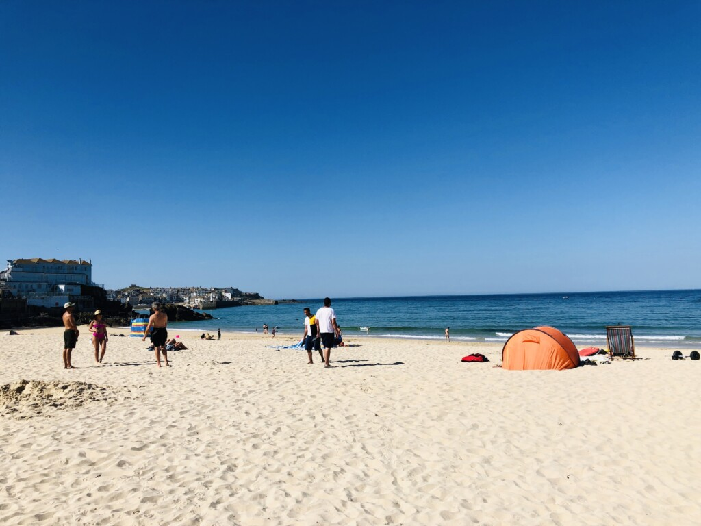 Plaża Porthminster St Ives Kornwalia