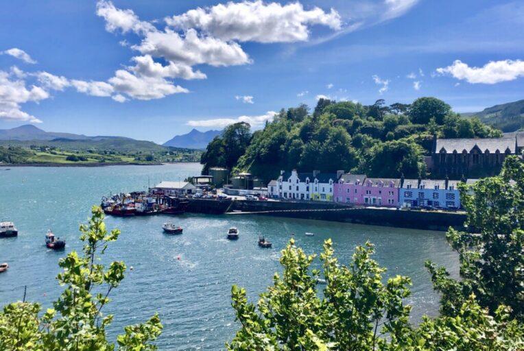 Szkocja Isle of Skye Portree