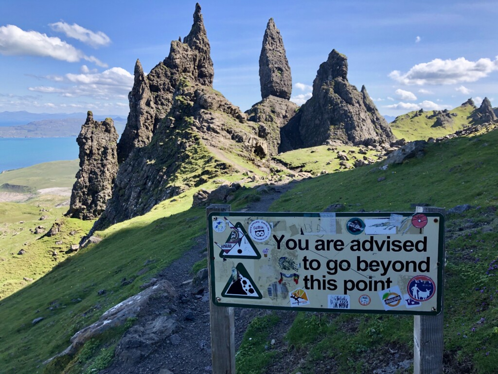 Szkocja Isle of Skye Old Man Of Storr