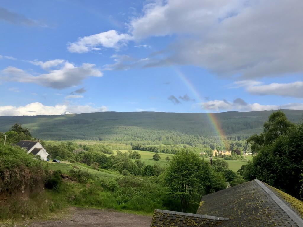 tęcza Szkocja Highlands