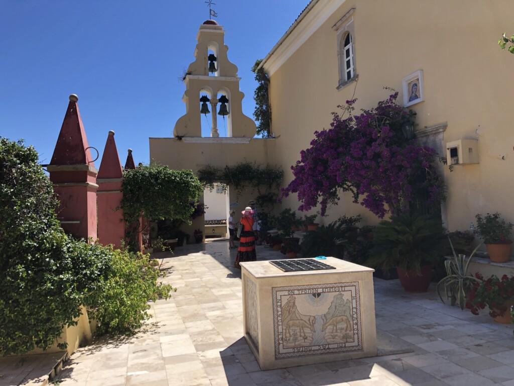 Korfu Paleokastritsa Grecja klasztor Theotokos