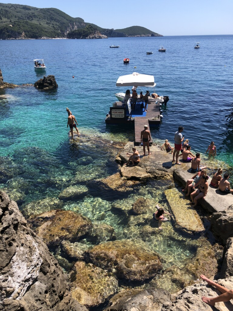 Korfu La Grotta Paleokastritsa Grecja