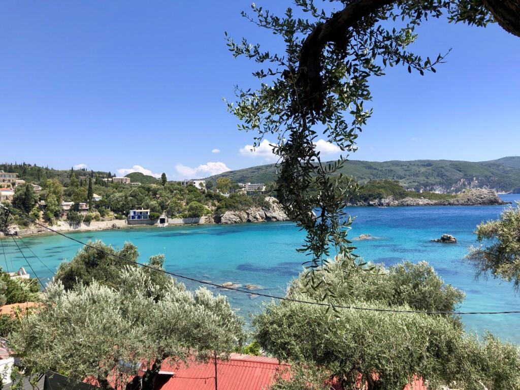 Korfu Paleokastritsa Grecja wyspa